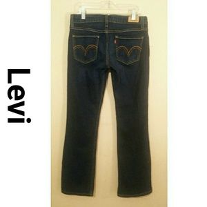 Levi Strauss 524 Super Low Boot Cut jeans